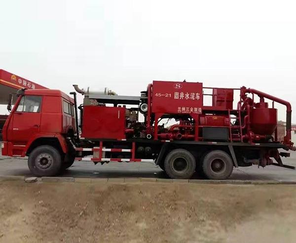 固井水泥车